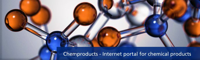 Internet portal for chemical products